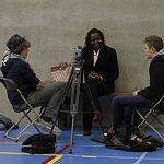 Schoolproject Sint-Ritacollege - Songs of war: 21 februari 2013: interviewdag in Edegem